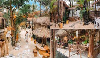 [NEW] Trouit Cafe Bandung, Tempat Nongkrong Dengan Suasana Beach Club Bali yang Punya Hawa Dingin dan Sejuk!