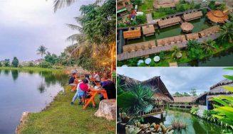 Saung Berkah Cibinong, Resto Lesehan Tepi Danau yang Super Nyaman di Bogor!